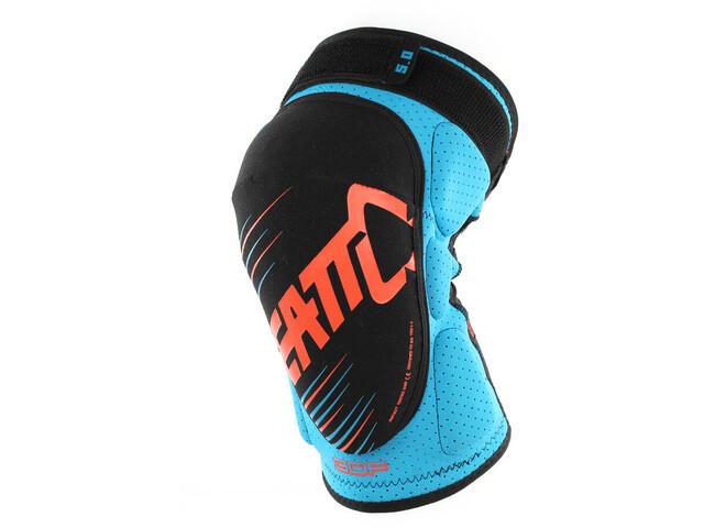 Leatt 3DF 5.0 Knee Guard blue/orange